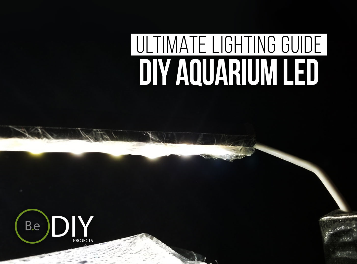 diy aquarium lights thumbnail