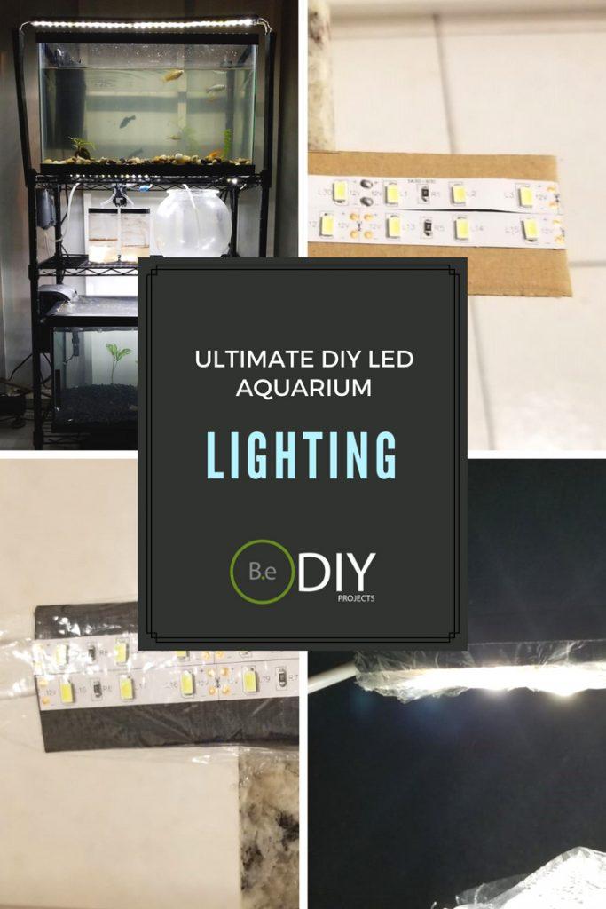 diy LED aquarium lighting