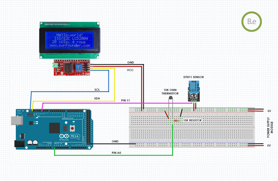 monitoring humidity and temperature with arduino