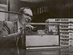 uncle Milton Levine ant farm history