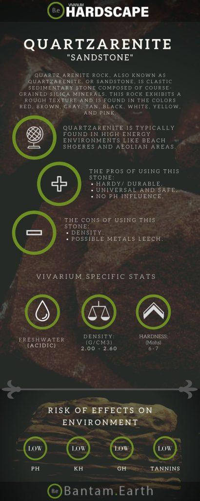 """Sandstone """"Quartz Arenite Rock"""" Aquascape Tips"""