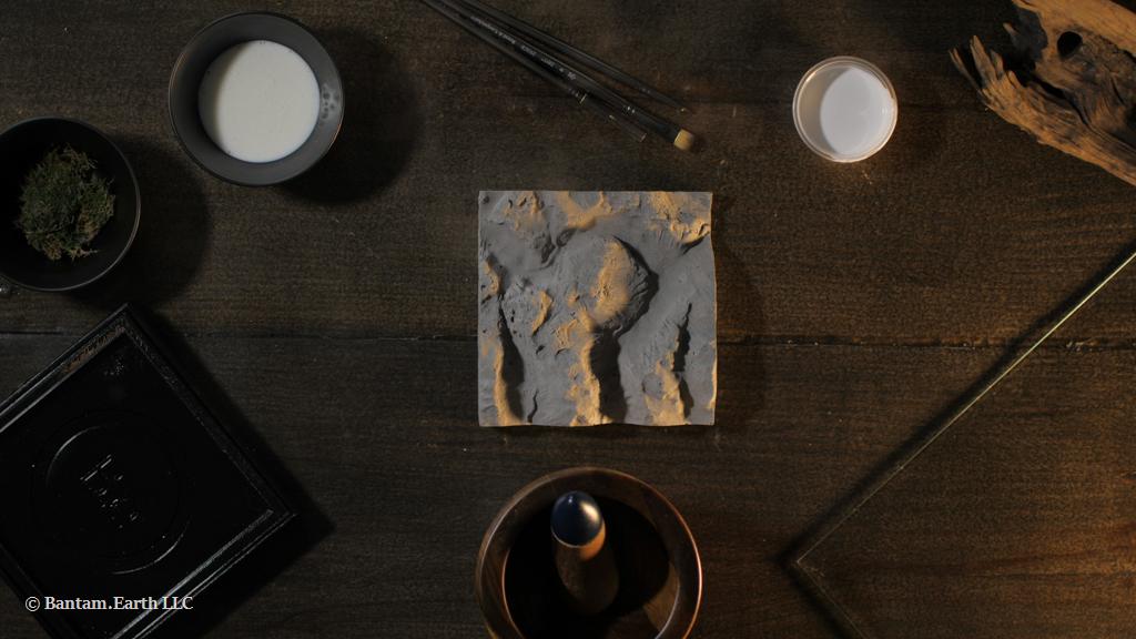 Mini Rocky Cliff Terrarium Material List